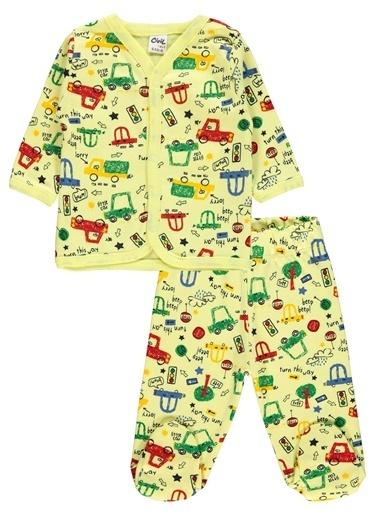 Civil Baby Pijama Takım Sarı